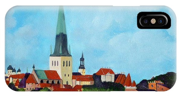 Medieval Tallinn IPhone Case