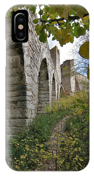 Medieval Town Wall IPhone Case