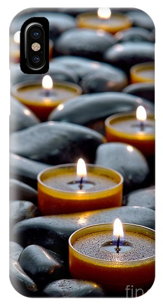 Meditation Candles IPhone Case