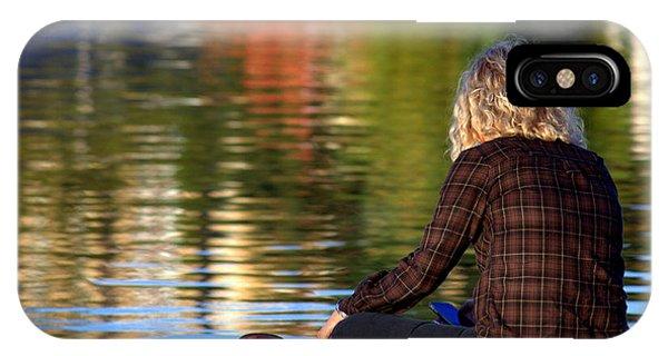 Meditating In Huntsville IPhone Case