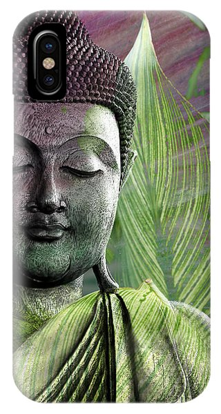 Meditation Vegetation IPhone Case
