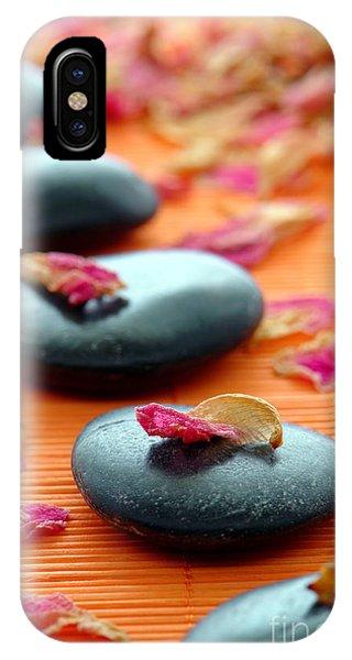 Meditative iPhone Case - Meditation Zen Path by Olivier Le Queinec
