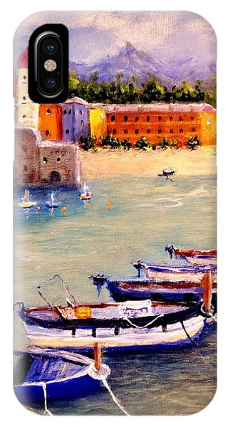 Mediterranean Harbour.. IPhone Case