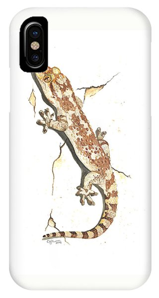 Mediterranean House Gecko IPhone Case