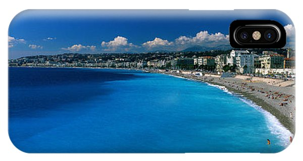 Sunbather iPhone Case - Mediterranean Sea French Riviera Nice by Panoramic Images
