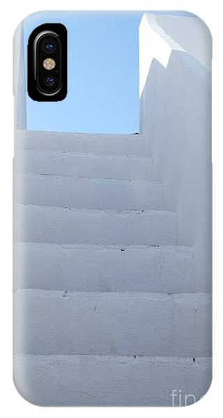 Mediterranean Staircase IPhone Case