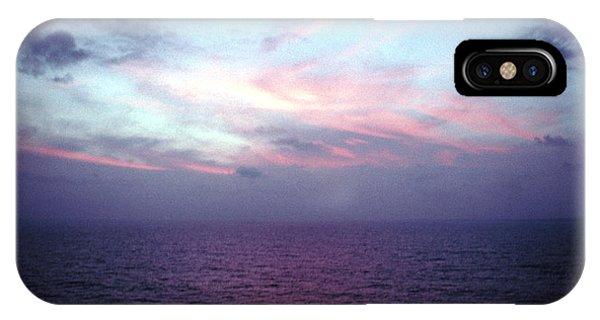 Mediterranen Sunset Phone Case by Tom Wurl