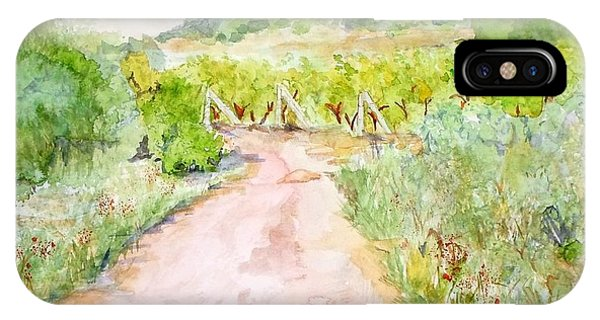 Medjugorje Path To Apparition Hill IPhone Case