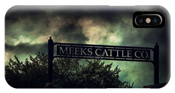 Meeks Cattle IPhone Case