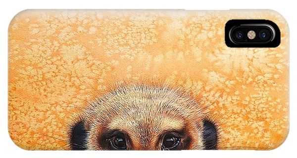 Meerkat's Smile IPhone Case
