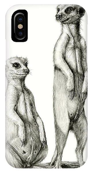 Meerkatte IPhone Case