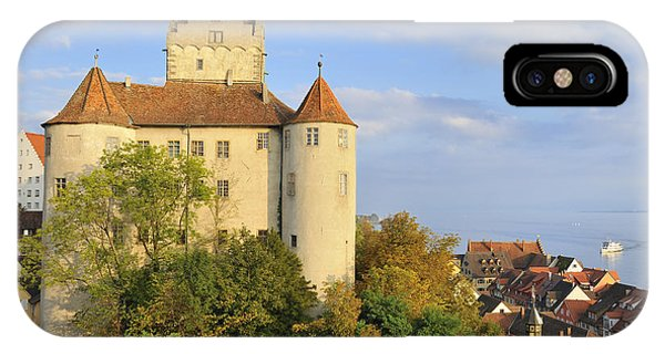Meersburg Castle And Town Germany Phone Case by Matthias Hauser