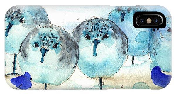 Meet The Sanderlings IPhone Case
