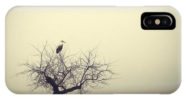 Fog iPhone Case - Meeting In The Morning by Holger Droste