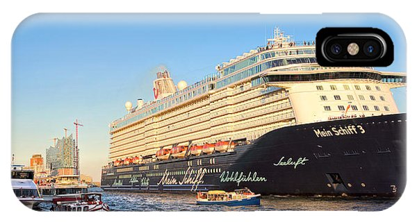 Mein Schiff 3 IPhone Case