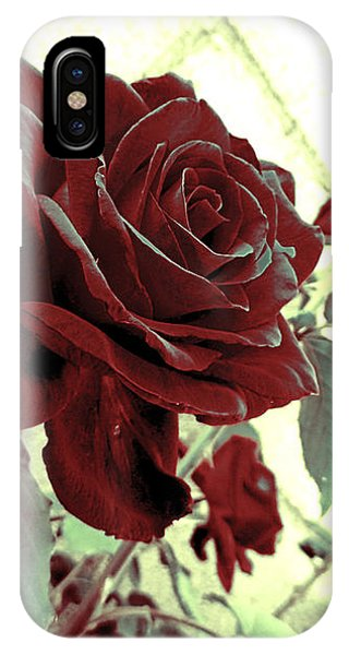 Melancholy Rose IPhone Case
