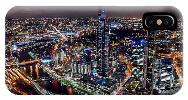 Melbourne At Night IIi IPhone Case