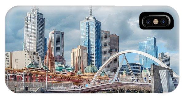Melbourne Australia IPhone Case