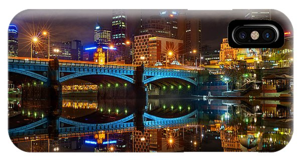 IPhone Case featuring the photograph Reflective City by Ray Warren