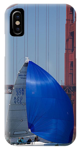 Melges At The Gate IPhone Case