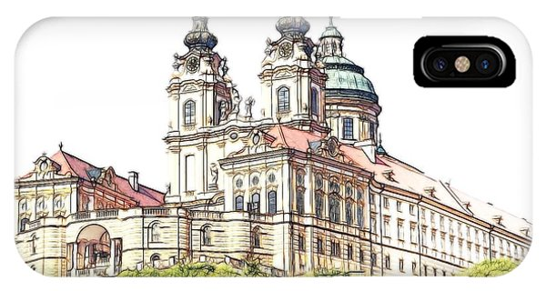 Melk Abbey In Lower Austria IPhone Case