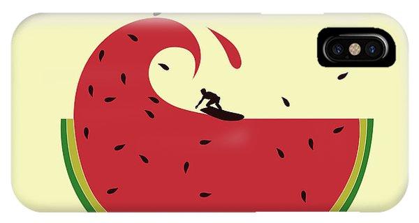 Melon Splash IPhone Case
