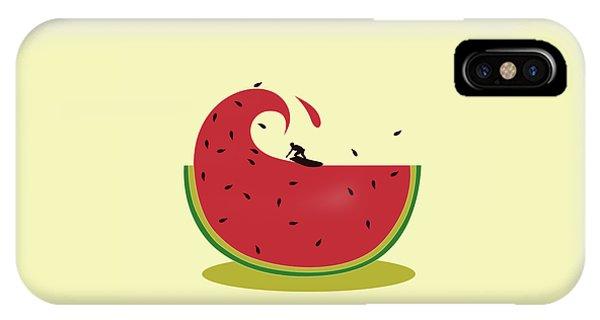 Summer Fruit iPhone Case - Melon Splash by Neelanjana  Bandyopadhyay