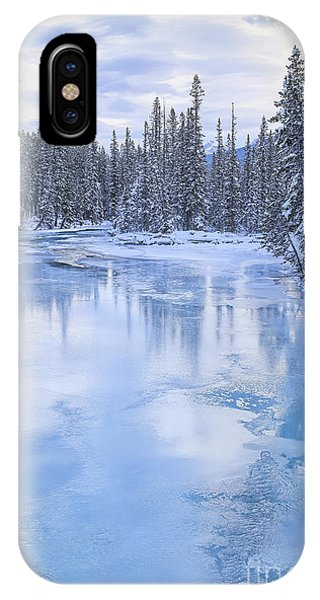 Banff iPhone Case - Melt Away by Evelina Kremsdorf