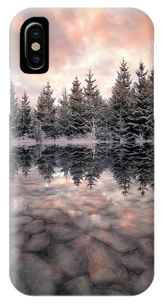 River iPhone Case - Melting by Christian Lindsten