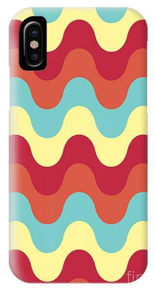 Yellow iPhone Case - Melting Colors Pattern by Freshinkstain