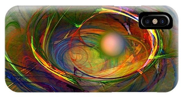 Fractal Landscape iPhone Case - Melting Pot-abstract Art by Karin Kuhlmann