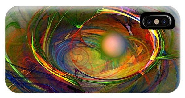 Melting Pot-abstract Art IPhone Case