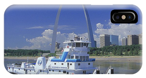 Memco Towboat In St Louis IPhone Case