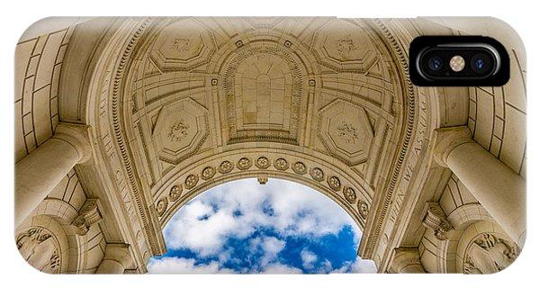 Memorial Amphitheater Arlington National Cemetery IPhone Case
