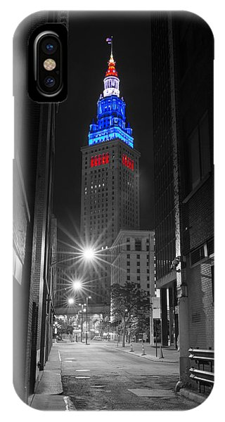 Memorial Day Terminal Tower In Cleveland IPhone Case