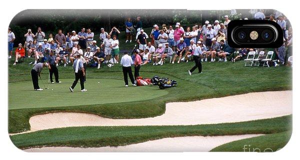 12w192 Memorial Tournament Photo IPhone Case