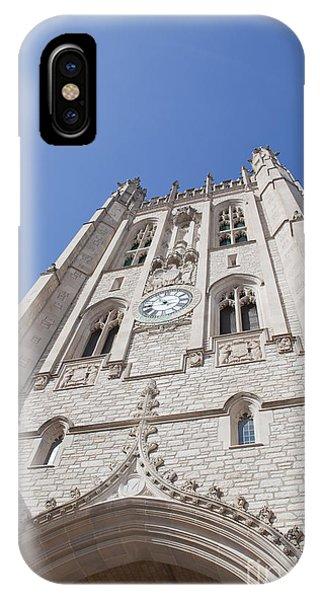 Memorial Union Clock Tower IPhone Case