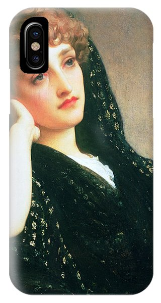 Deep Thought iPhone Case - Memories by Frederic Leighton
