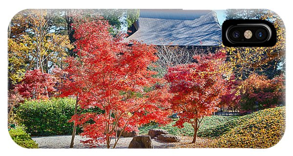 Memories Of Autumn-1 IPhone Case