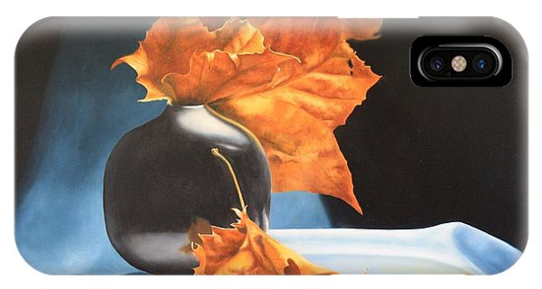 Memories Of Fall - Oil Painting IPhone Case
