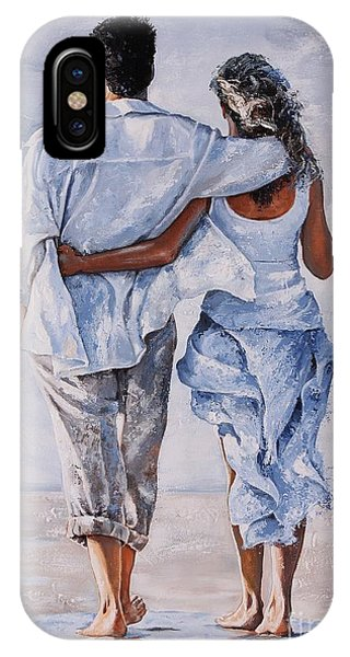 Valentines Day iPhone X Case - Memories Of Love by Emerico Imre Toth