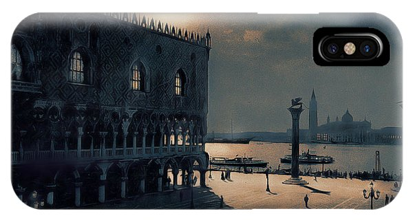Memories Of Venice No 2 IPhone Case