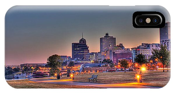 Cityscape - Skyline - Memphis At Dawn IPhone Case
