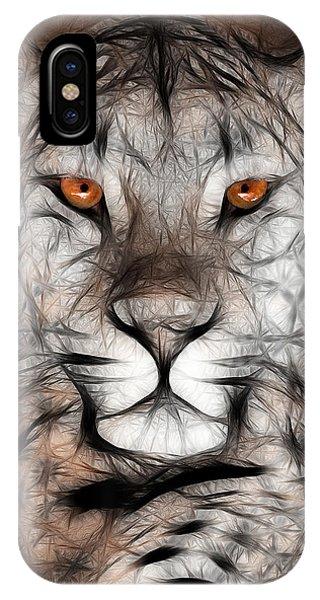 Memphis Leopard Artwork IPhone Case