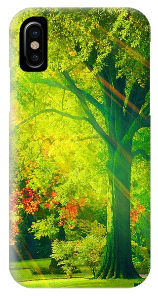 Memphis Morning IPhone Case