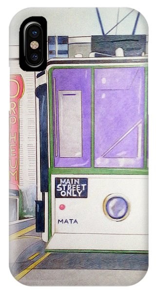 Memphis Trolley IPhone Case
