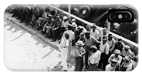 Memphis Unemployed, 1938 Phone Case by Granger
