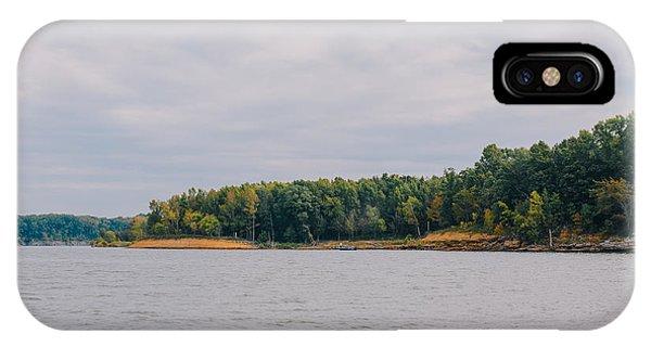 Men Fishing On Barren River Lake IPhone Case