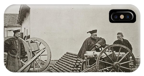 Men With Volley Gun And Rockets IPhone Case