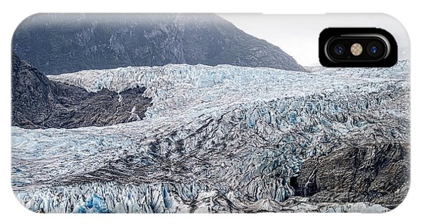 Mendenhall Glacier 1 IPhone Case